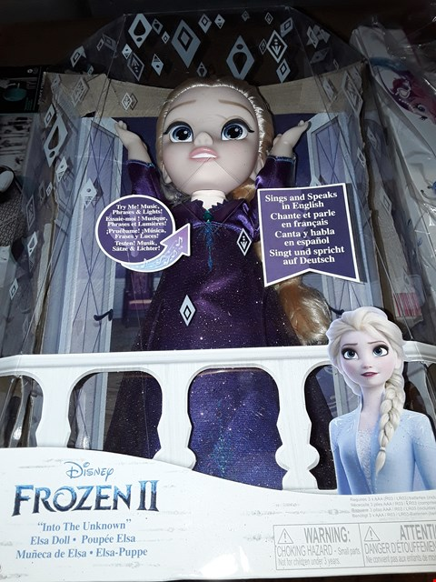 Lot 5039 FROZEN 2 SINGING ELSA DOLL
