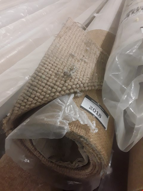 Lot 51 ROLL OF THAXED SUEDE CARPET APPROXIMATELY 4X1.55M