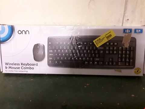 Lot 1030 BOXED WIRELESS KEYBOARD AND MOUSE COMBO