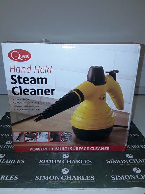 Lot 1796 QUEST HAND HELD STEAM CLEANER