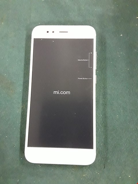 Lot 1045 BOXED ANDROIDNONE MI A1 GOLD MOBILE PHONE