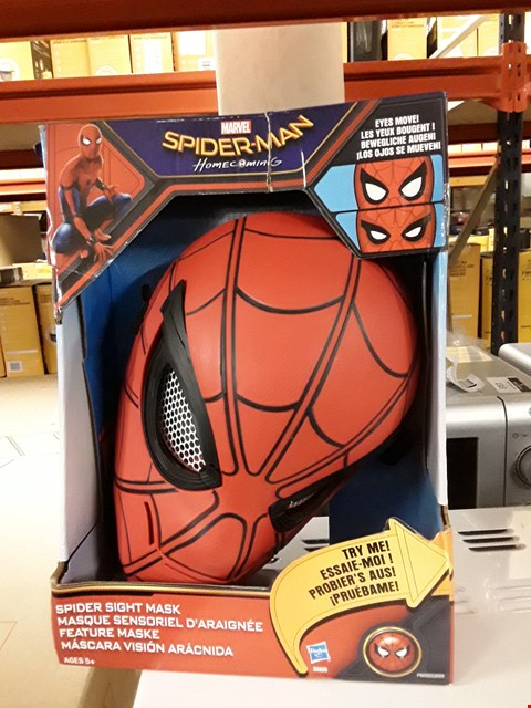 Lot 1075 GRADE 1 SPIDERMAN HOME COMING SPIDER SIGHT MASK  RRP £18.99