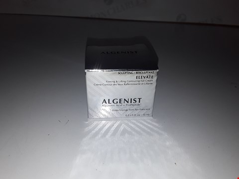 Lot 773 ALGENIST ELEVATE FIRMING AND LIFTING CONTOURING EYE CREAM 15ML