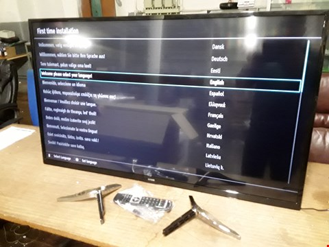 "Lot 37 LUXOR 55"" ULTRA HD LED TELEVISION MODEL LUX0155005/01  RRP £479.99"