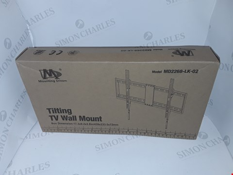 Lot 37 MOUNTING DREAM TILTING TV WALL MOUNT - MD2268-LK-02