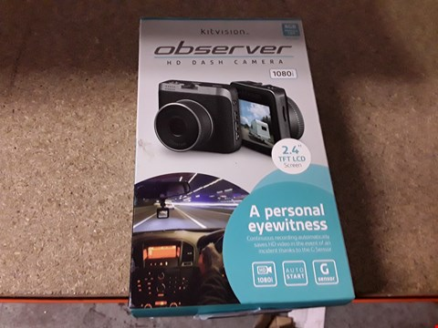Lot 393 LOT OF APPROXIMATELY 4 KITVISION OBSERVER HD DASH CAM