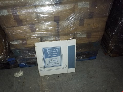 Lot 3107 PALLET OF ASSORTED ITEMS TO INCLUDE CARDBOARD STORAGE BOXES