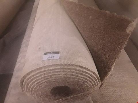 Lot 3903 ROLL OF BROWN CARPET APPROXIMATELY 5X6M