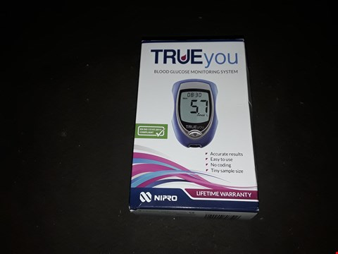 Lot 2600 TRUE YOU BLOOD GLUCOSE MONITORING SYSTEM
