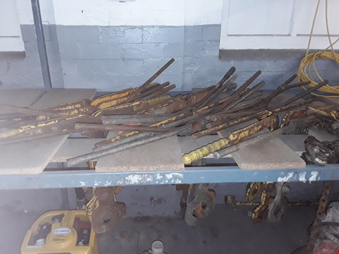 Lot 51 APPROXIMATELY 25 X  ASSORTED RAIL TONG