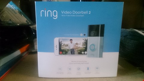 Lot 5503 RING VIDEO DOOR BELL 2