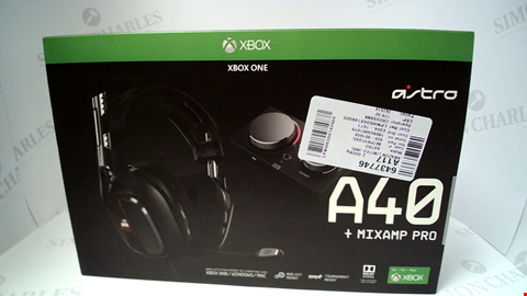 Lot 17248 ASTRO A40 + MIXAMP PRO HEADSET