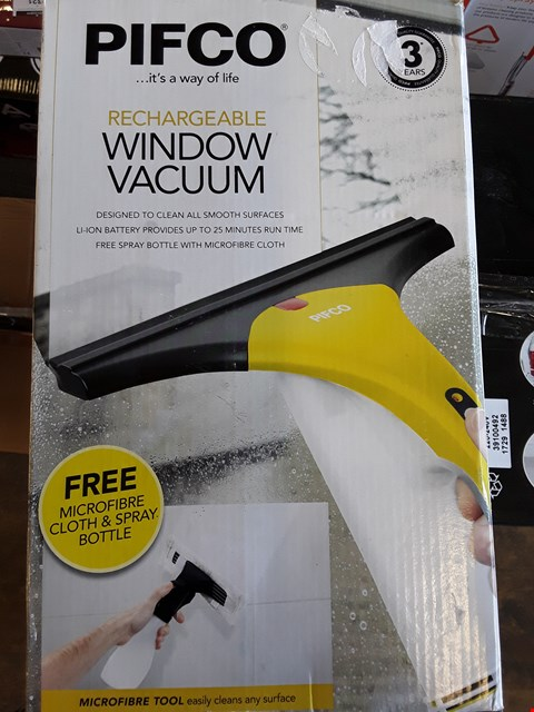 Lot 2269 PIFCO RECHARGEABLE WINDOW VACUUM