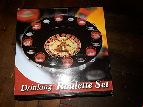 Lot 2127 LOT OF 3 DRINKING ROULETTE SETS