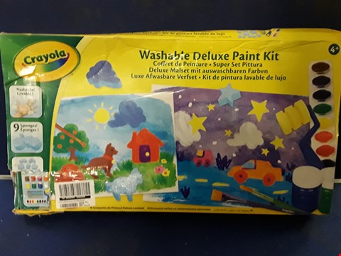 Lot 8705 CRAYOLA MY PAINTING CASE RRP £33.00