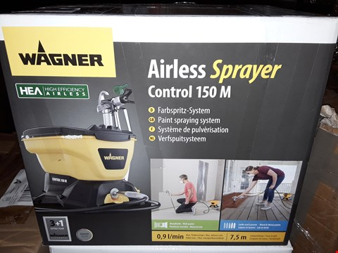 Lot 471 BOXED WAGNER CONTROL 150M AIRLESS SPRAYER