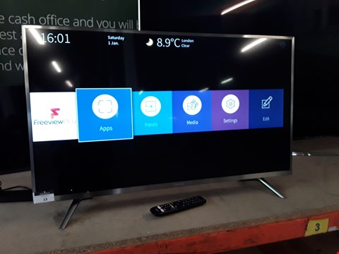 "Lot 27 HISENSE 45"" TELEVISION WITH STAND & REMOTE Model H45N5750"