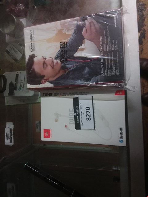 Lot 8270 A LOT OF 2 EAR PHONES TO INCLUDE HARMAN ANF HYPERX