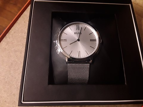 Lot 9234 GRADE 1 HUGO BOSS CONTEMPORARY SPORT OCEAN MESH STRAP WRISTWATCH  RRP £299.00
