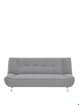 Lot 59 BOXED LIMA GREY FABRIC SOFABED.