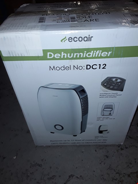 Lot 1931 ECOAIR DEHUMIDIFIER