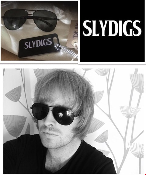 Lot 38 SHADES DONATED BY DEAN FAIRHURST VOCALIST AND GUITARIST FROM SLYDIGS