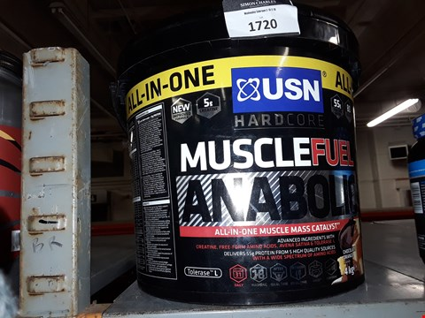 Lot 1720 MUSCLEFUEL ANABOLIC ALL-IN-ONE MUSCLE MASS CATALYST