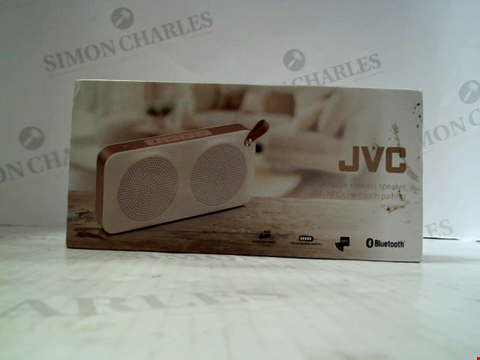 Lot 5605 JVC PORTABLE WIRELESS SPEAKER