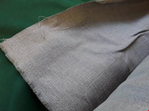 Lot 2064 LARGE ROLL OF GREY WEAVE FIRE RETARDANT MATERIAL APPROXIMATELY 140cm × SIZE UNSPECIFIED