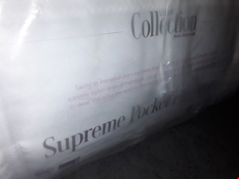 Lot 96 QUALITY BAGGED LUXE COLLECTION SUPREME POCKET PILLOWTOP DOUBLE MATTRESS