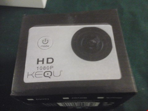 Lot 1081 BOXED KEQU HD ACTION CAMERA