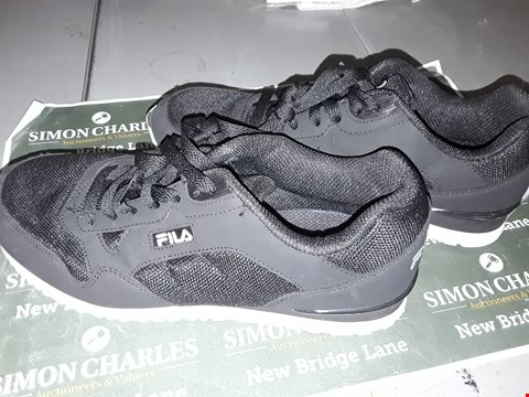 Lot 9008 FILA FOOTWEAR IN BLACK UK SIZE 7