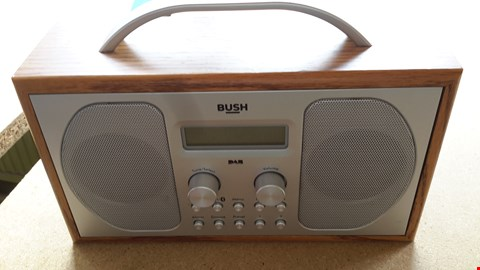 Lot 100 BUSH PORTABLE DAB RADIO WITH BLUETOOTH