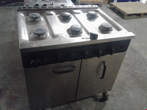 Lot 13508 BUFFALO OVEN WITH 6-PLACE HOB