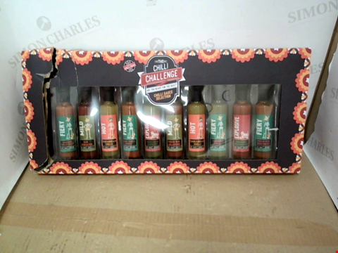 Lot 13396 GIANT CHILLI SAUCE SELECTION RRP £37.00