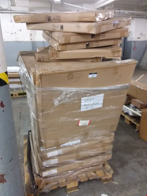Lot 555 PALLET OF APPROXIMATELY 23 BOXED 80CM TABLE BASES