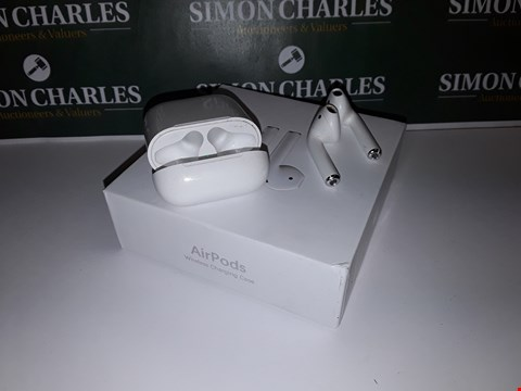 Lot 40 BOXED SET OF APPLE AIRPORTS WITH CHARGING CASE