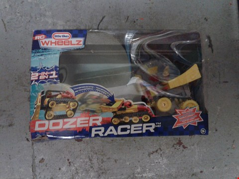 Lot 614 LOT OF 2 ITEMS TO INCLUDE LITTLE TIKES RC DOZER RACER AND JOE & SEPHS JOE & SEPHS GOURMET POPCORN STOCKING RRP £80