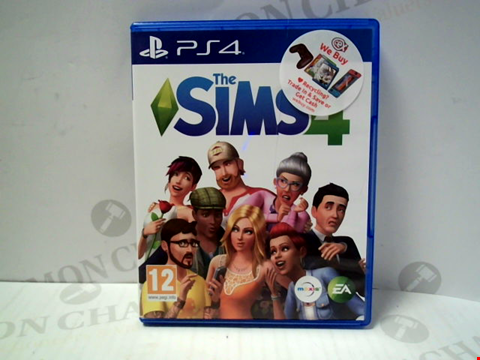 Lot 5724 THE SIMS 4 PLAYSTATION 4 GAME