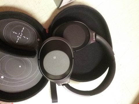 Lot 4348 SONY WH-1000XM2 WIRELESS OVER-EAR NOISE CANCELLING HIGH RESOLUTION HEADPHONES