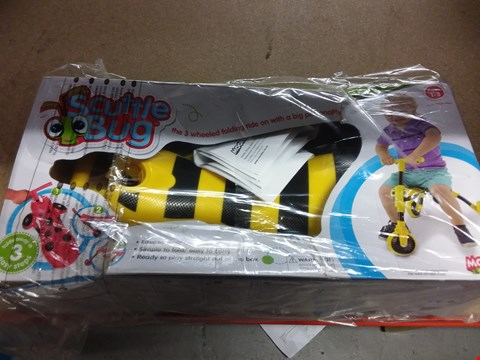 Lot 7202 SCUTTLEBUG BUMBLE BEE RIDE ON  ( GRADE 1 ) .
