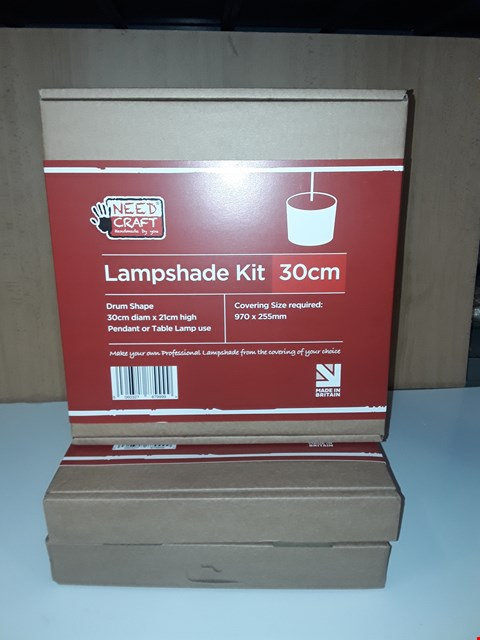 Lot 161 SET OF 3 LAMPSHADE CRAFT KITS
