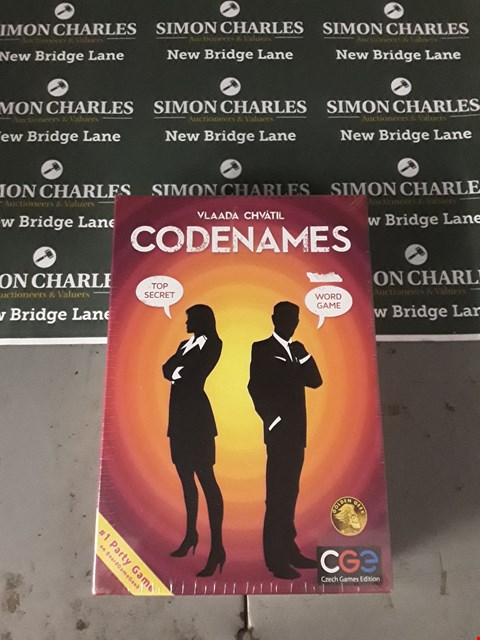Lot 578 BOXED CODENAMES BOARD GAME