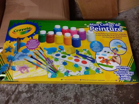 Lot 20 CRAYOLA MY PAINTING CASE RRP £33