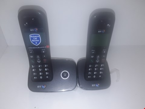 Lot 1031 BT 1200 NUISANCE CALL BLOCKER CORDLESS HOME PHONE - TWIN PACK