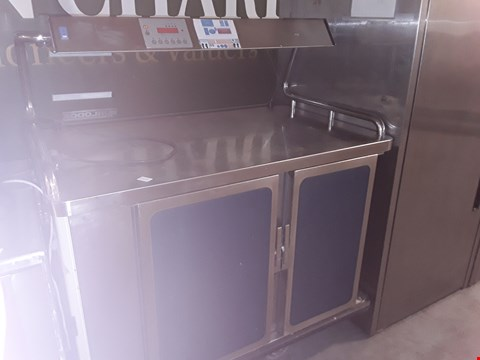 Lot 8 COMMERCIAL STAINLESS STEEL BURLODGE HOT HOLD OVEN