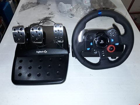 Lot 12160 LOGITECH G29 DRIVING FORCE STEERING WHEEL