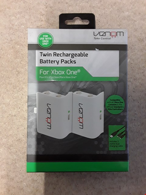 Lot 64 BRAND NEW BOXED VENOM TWIN RECHARGABLE BATTERY PACKS FOR XBOX ONE
