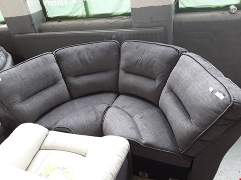 Lot 2005 TWO CIRUS GREY FABRIC CORNER SECTIONS RRP £1600