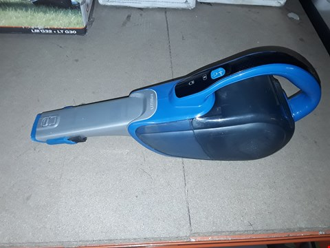 Lot 12600 BLACK & DECKER DUSTBUSTER 21.6WH